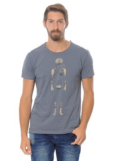 Baskılı Tişört-Kaft